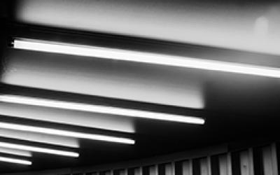 Bras projecteur exterieur